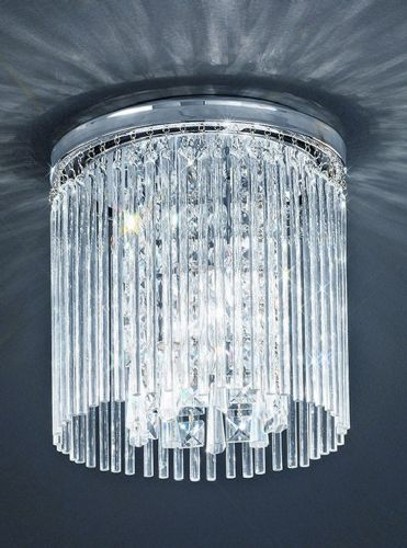 Franklite CF5726 Chrome Ceiling Light